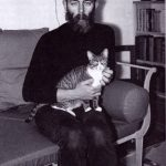 Edward Gorey and cat1