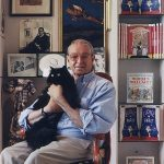 Hilary Knight and cat