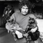 Jan Wolkers and cats