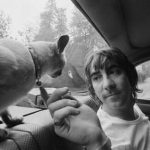 Keith Moon and cat
