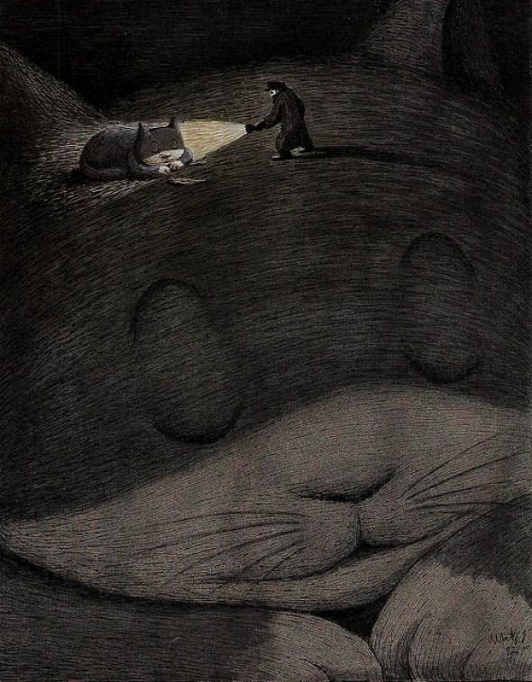 27-Franco Matticchio, The Dream of he Cat