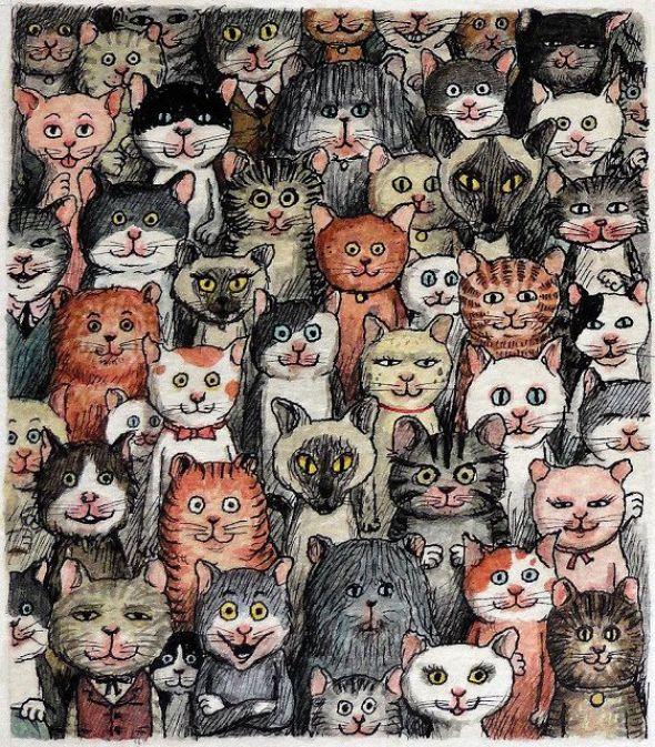 7-Franco Matticchio-Cat Illustrations