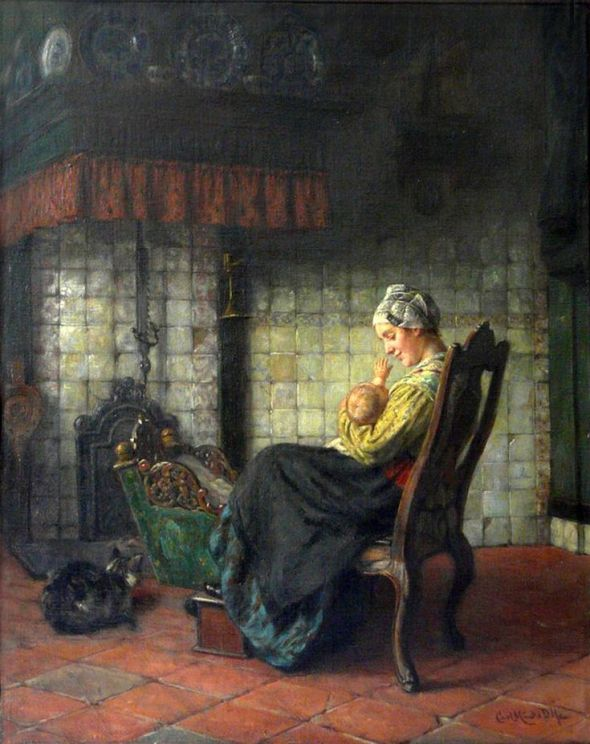 Breast Feeding, Carl Emil Mücke