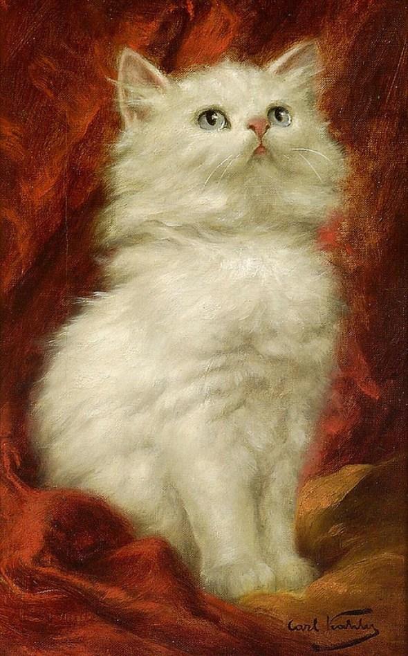 Carl Kahler, White Cat