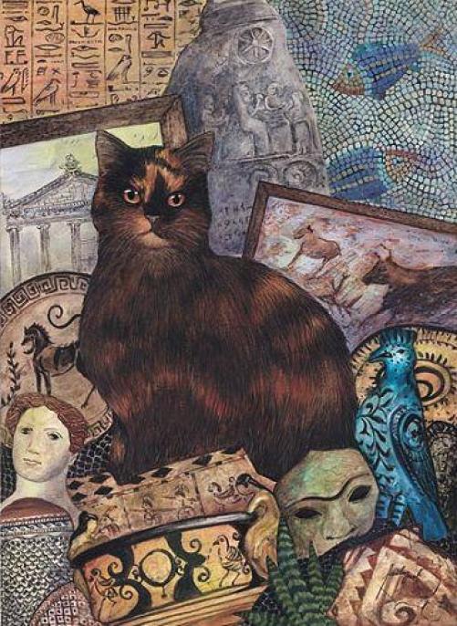 Feridun Oral, Cat and Antiquities