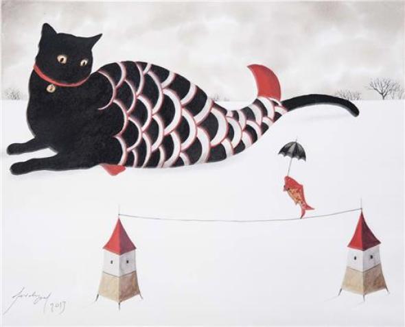 Feridun Oral, Black Fish Cat