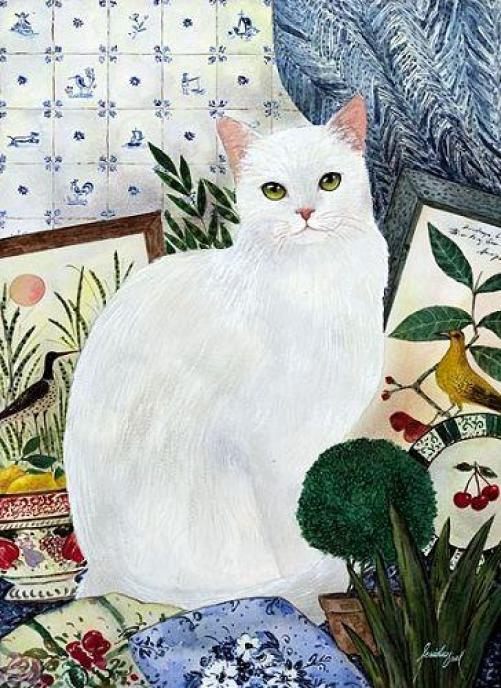 Feridun Oral, White Cat