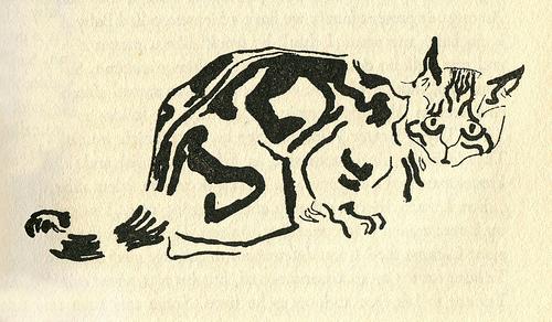 James Mason Cat Illustration 10