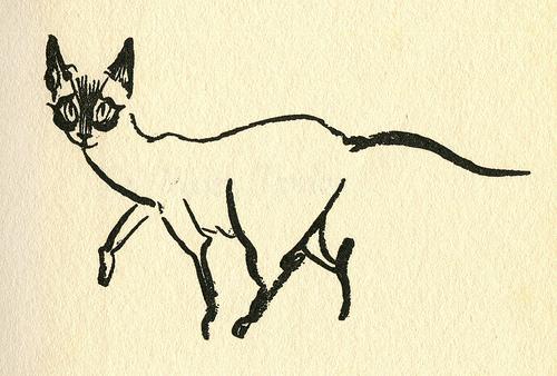 James Mason Cat Illustration 6