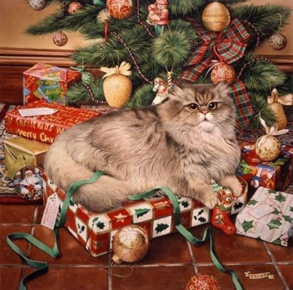 15-Lesley Anne Ivory, Christmas Cats