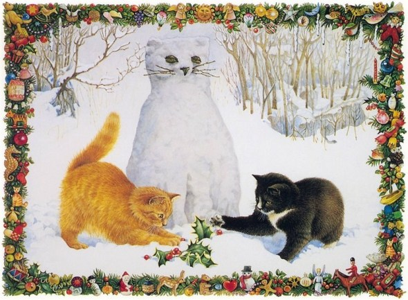 17-Lesley Anne Ivory, Christmas Cats