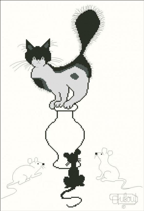 Albert Dubout, Electric Cat