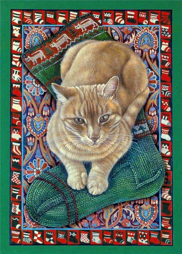 7-Lesley Anne Ivory, Christmas Cats