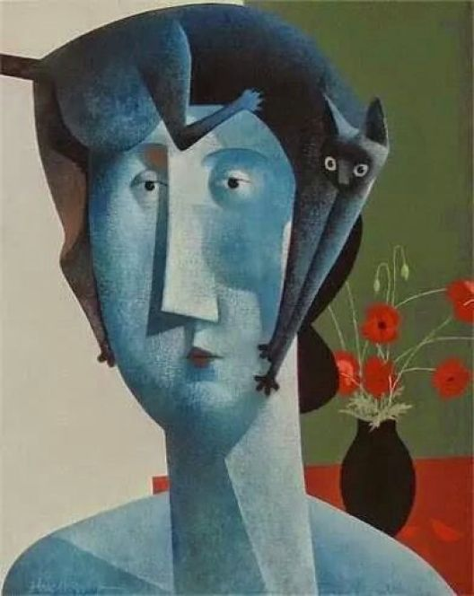 Cat on a Head, Peter Harskamp