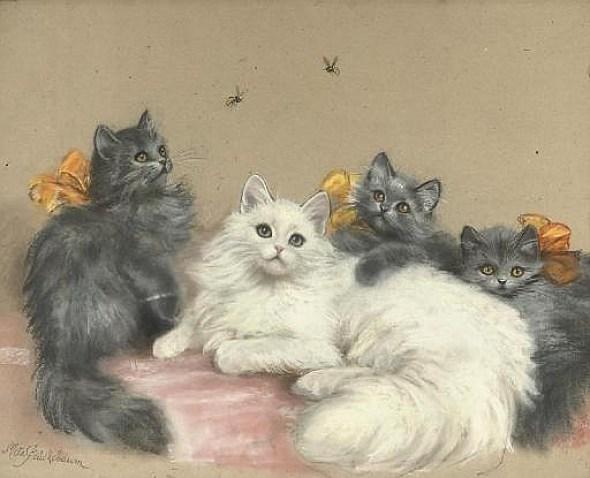Meta Pluckebaum, Furry Cat Friends