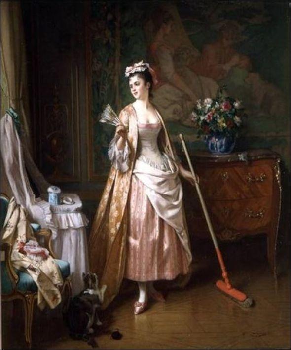 Joseph Caraud, Femme de chambre, 1875
