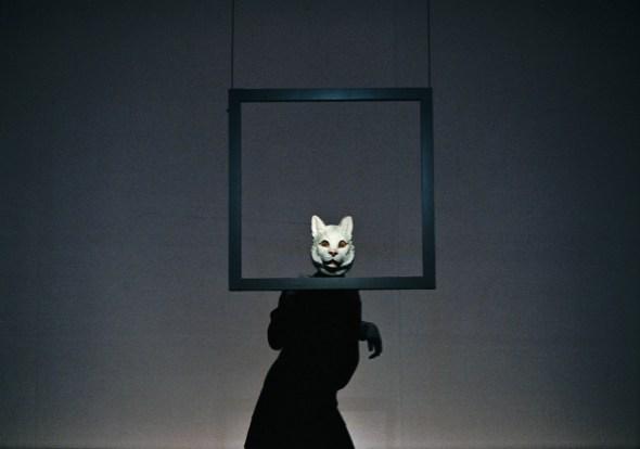 Cat Mask, Martine Franck