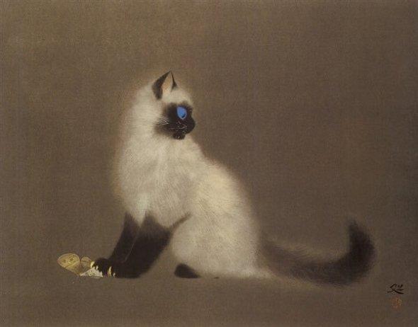 Cat and Butterfly, Matazo Kayama