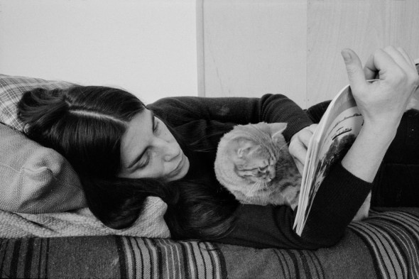 Woman and Cat Reading, 1975 Richard Kalvar 2