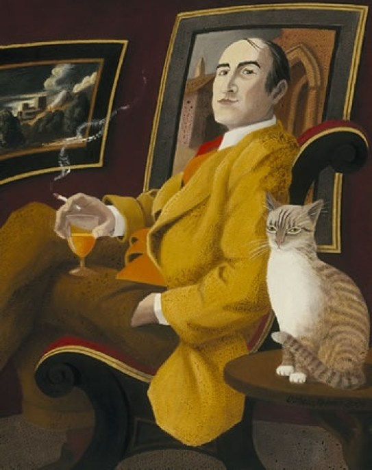 Ophelia Redpath, Man and Cat