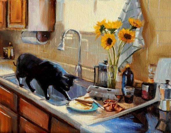 Jonelle Summerfield, On the Sink