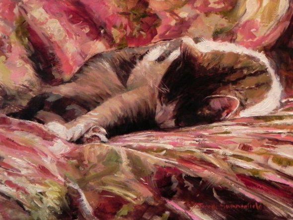 Jonelle Summerfield, Taking a Nap