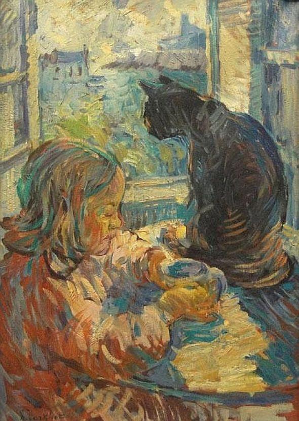 Nicholas Tarkhoff, Black Cat