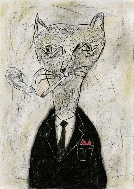 Tetsuhiro Wakabayashi, Smoking Cat