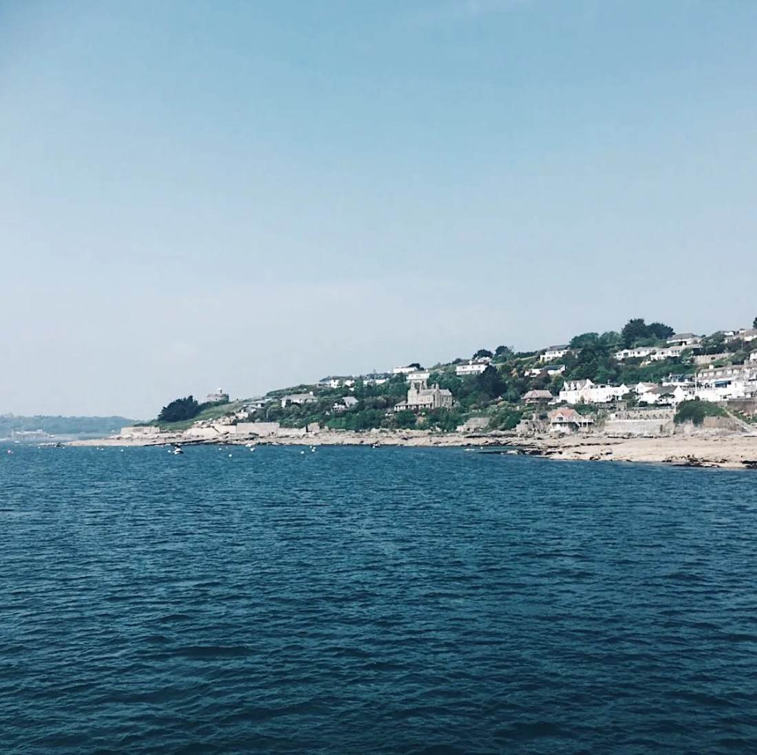 Ferry St Mawes To Falmouth Fal River Cornwall Days out Visit The Roseland