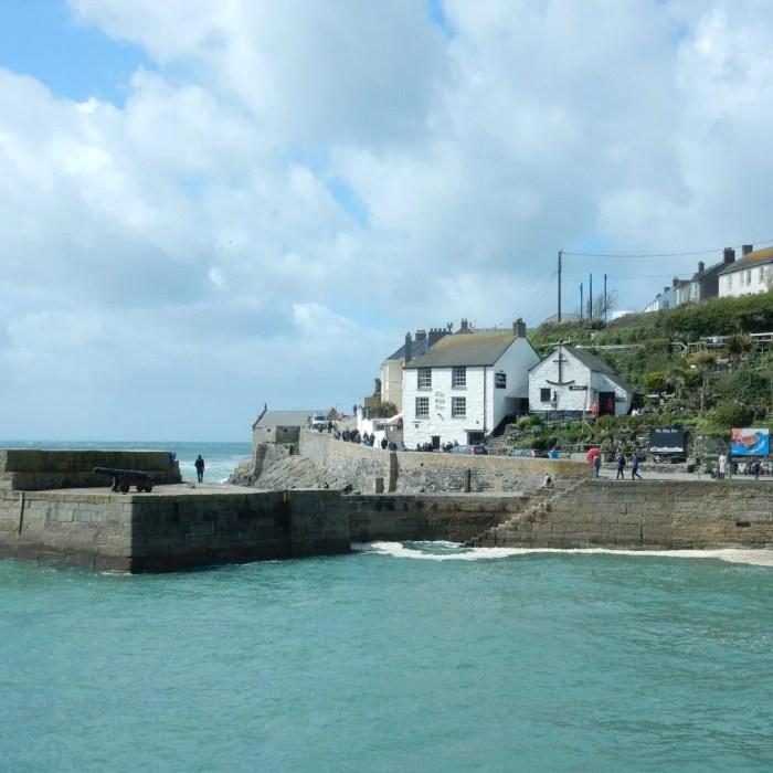 Porthleven Ship Inn Sea View Cornwall