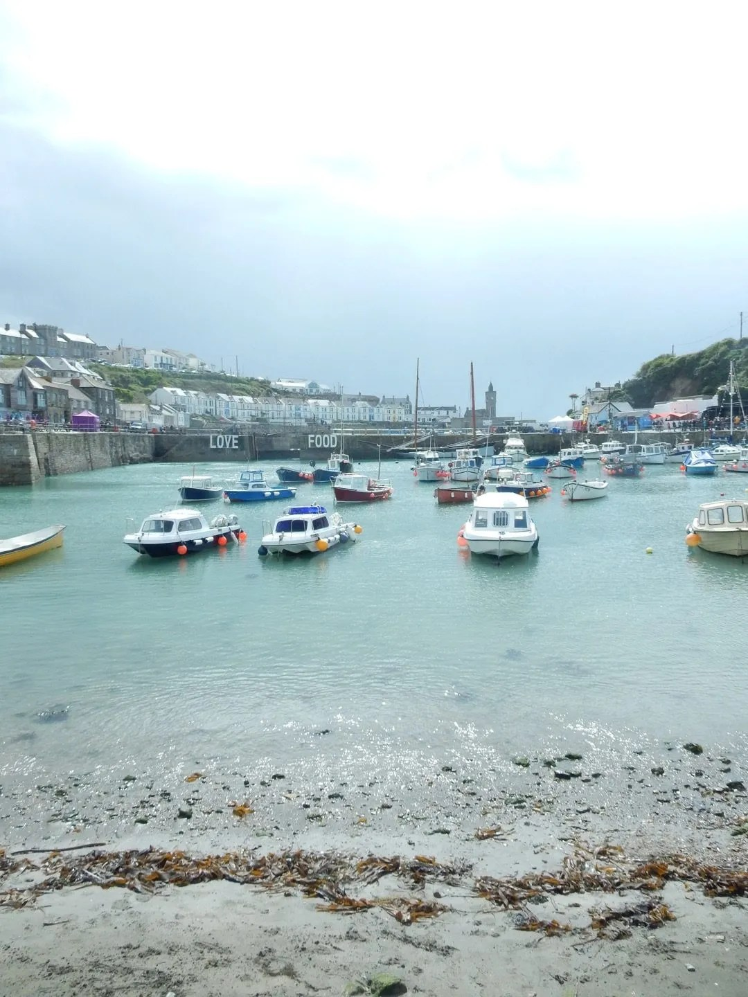 Porthleven Beach Harbour Cornwall