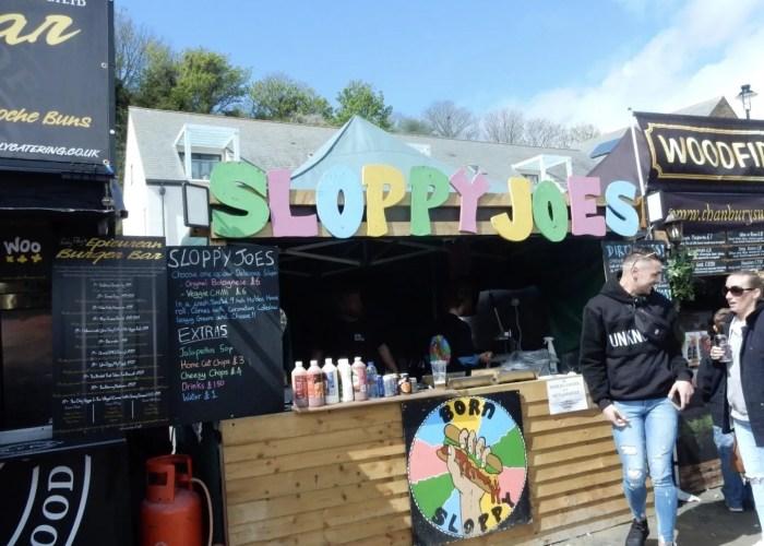 Sloppy Joe Porthleven Food Festival