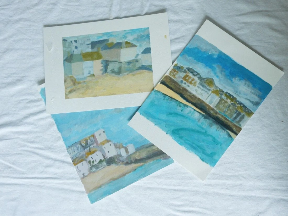 Amateur daily paintings St Ives