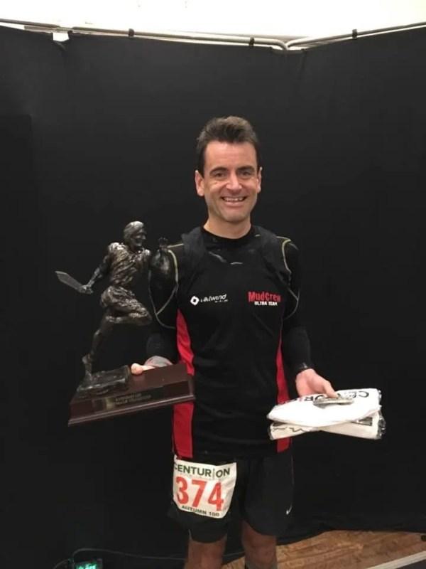 Paul Maskell Centrion Winner Ultra Run Faster