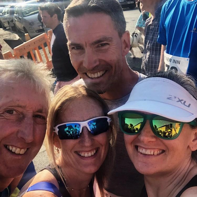 Tywardreath Trotter Runners Start Line