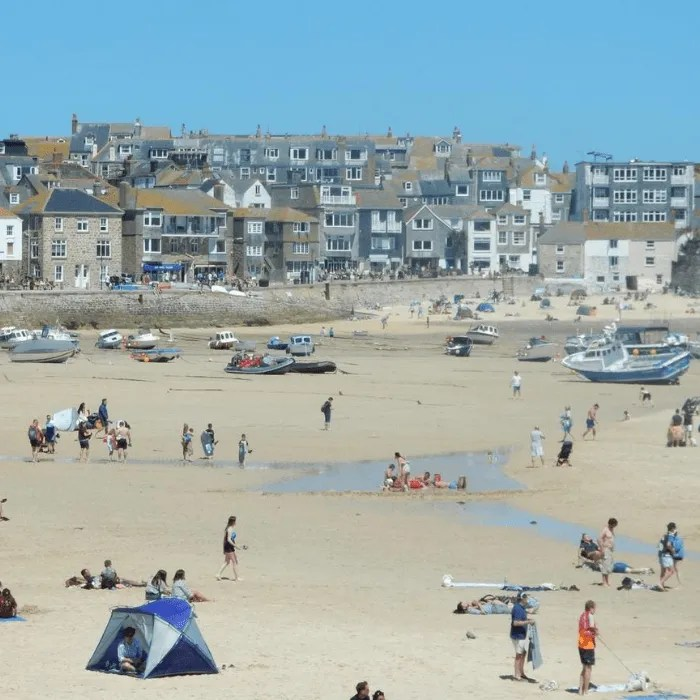 St Ives Harbour Beach.