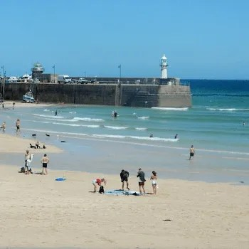 Smeatons Pier St Ives Cornwall