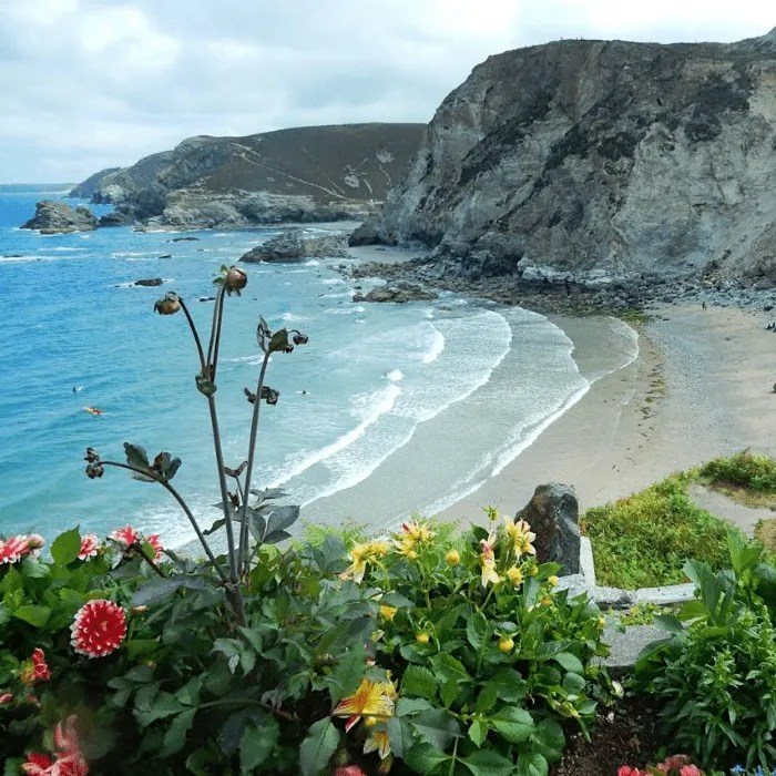 Trevaunance Cove Cornwall