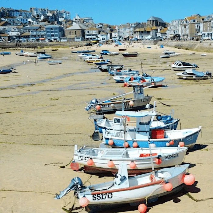 Boats on Harbour Beach