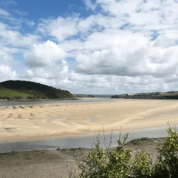 The Camel Estuary at low tide