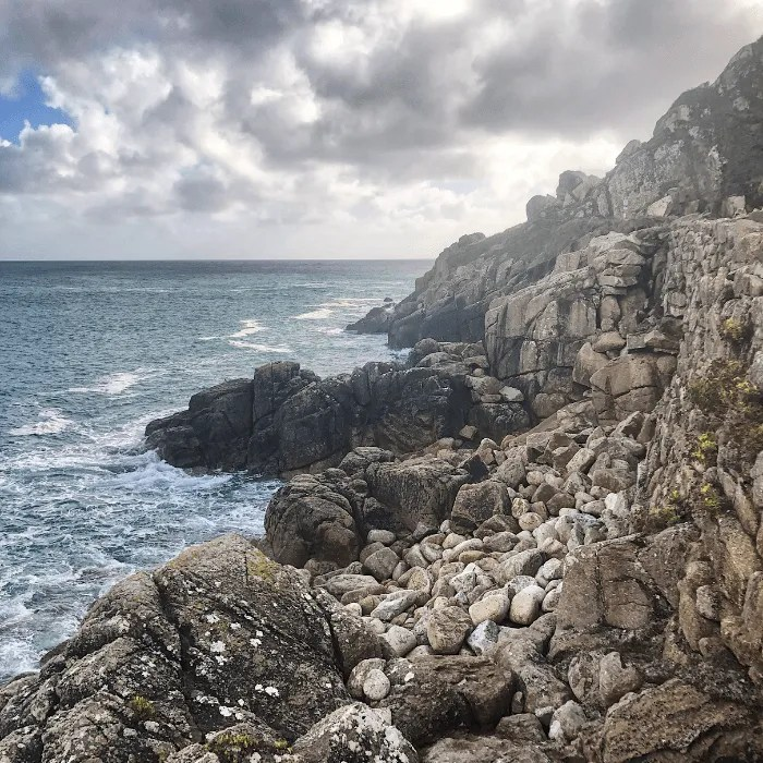 The harbour at Lamorna Cove