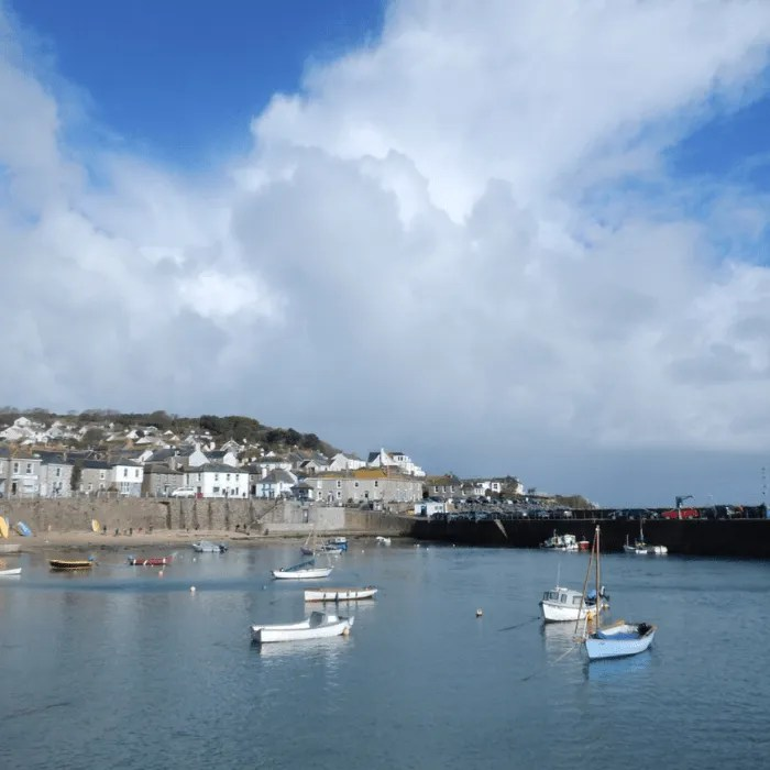 Fishing boats in Mousehole Harbour