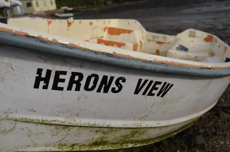 A boat called Heron View