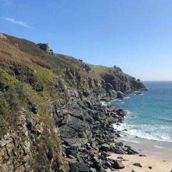 West Cornwall coastline