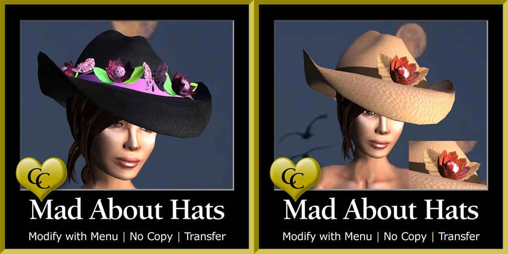 MAH San Antonia & Aussie Rose Cowboy Hats