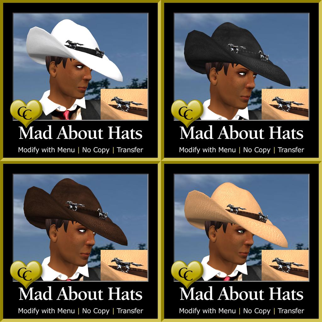 MAH Wild Ponies Cowboy Hats