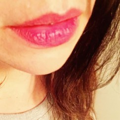 Day 30: Benefit Benetint Lipstain, in Rose.