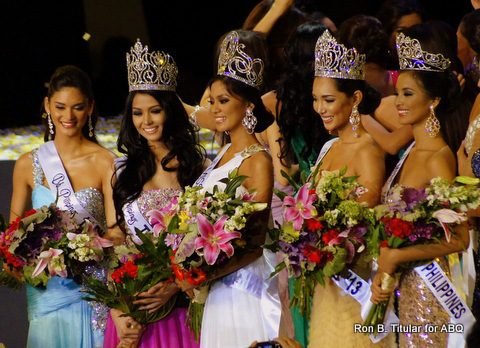 Bb. Pilipina 2013 winners