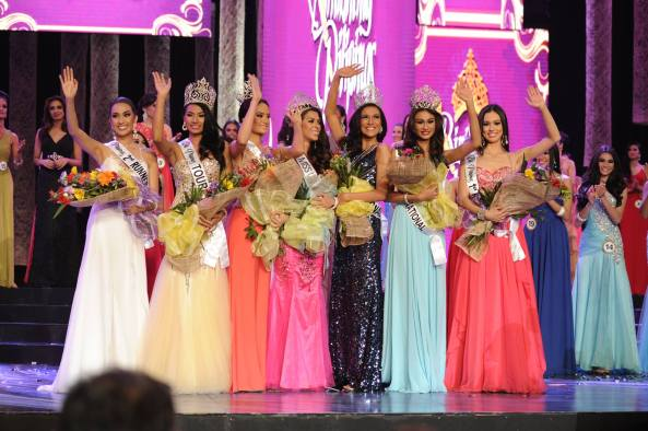 Mary Jean Lastimosa Miss Universe Philippines 2014 Mary Anne Bianca Guidotti Bb. Pilipinas 2014 International Parul Shah Bb. Pilipinas Tourism 2014 Kris Tiffany Janson Bb. Pilipinas 2014 Intercontinental Yvethe Marie Santiago Bb. Pilipinas 2014 Supranational Laura Victoria Lehmann Bb. Pilipinas 2014 1st Runner Up Hannah Ruth Sison Bb. Pilipinas 2014 2nd Runner Up
