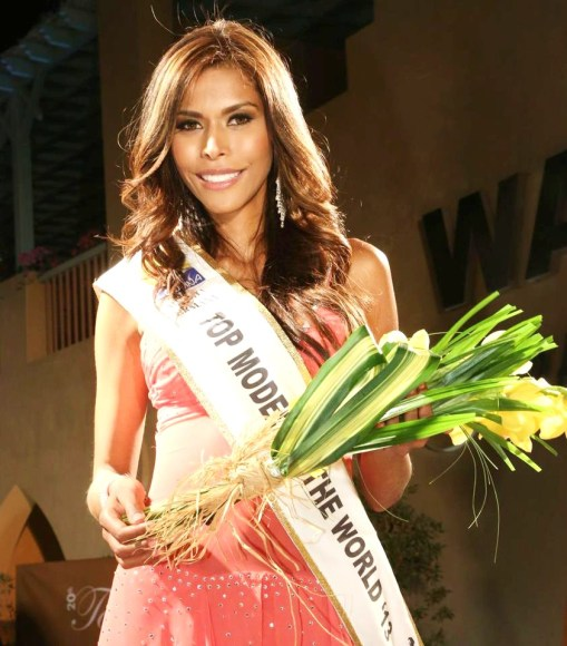 Monica Palacios, Last year's winner from Colombia